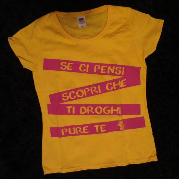 maglietta endorfine gialla